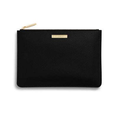 KLB596 Katie Loxton Pebble Perfect Pouch Black