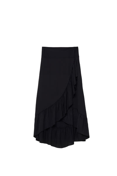 Twist & Tango Tammy Wrap Skirt Black