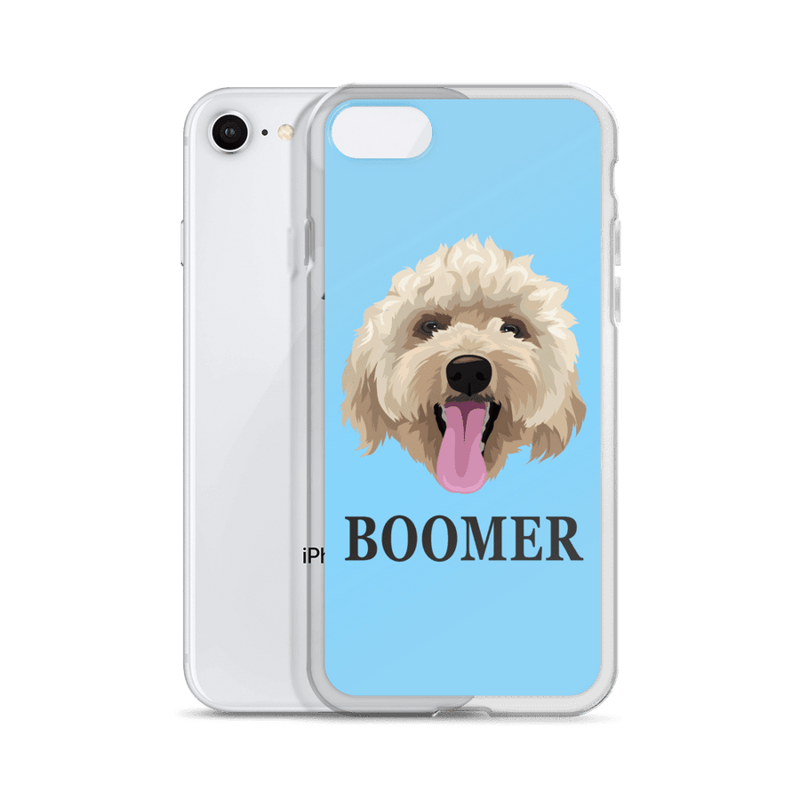 Custom Pet Print Phone Case with Text