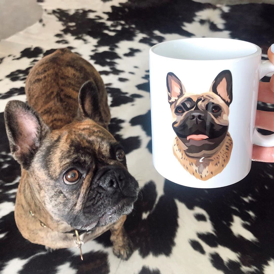 Custom Pet Print Coffee Mug