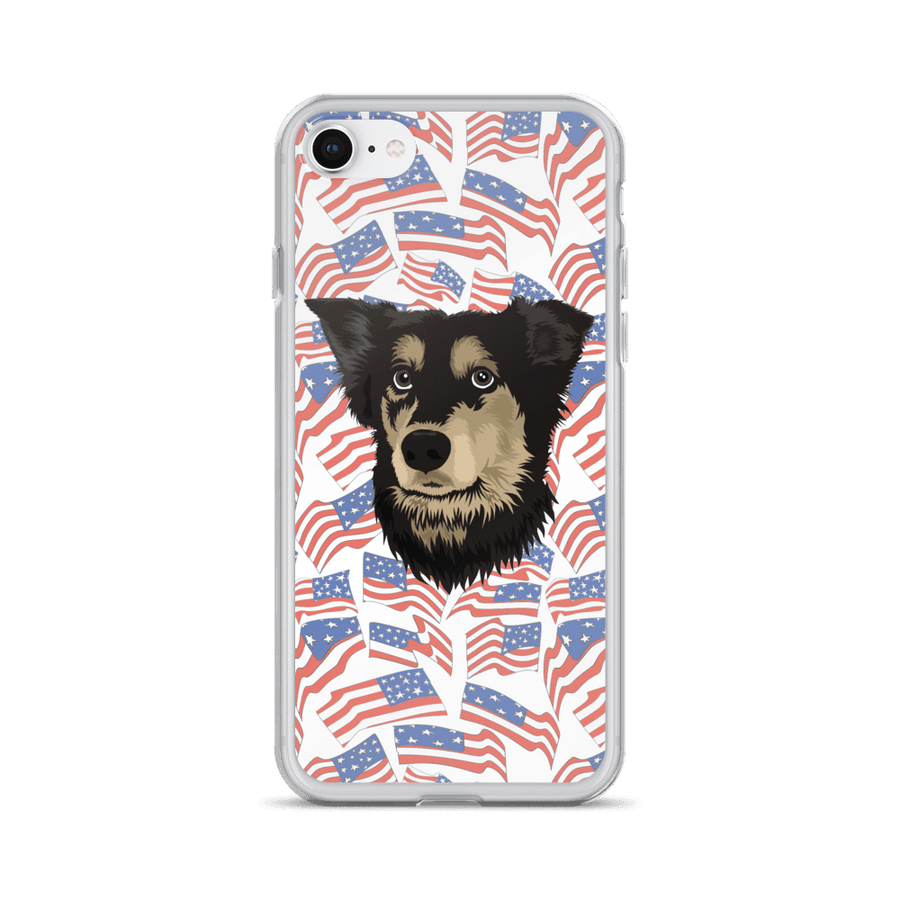 Independence Day Pet Print Phone Case