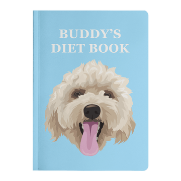 Custom Pet Print Hardcover Journal