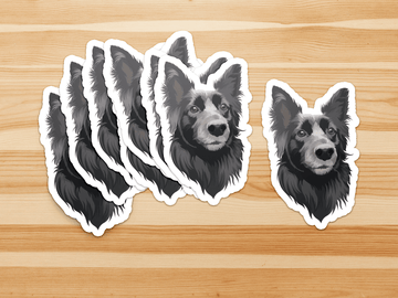 Custom Pet Print Vinyl Stickers