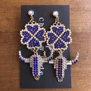 Bull Bling Multi Earring