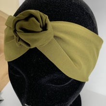 Load image into Gallery viewer, Olive Wire Headwrap
