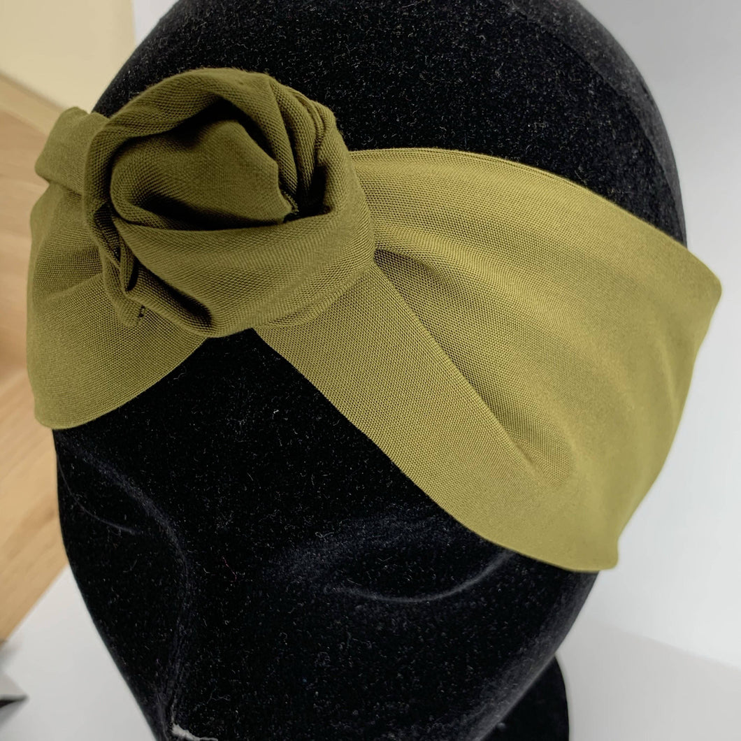 Olive Wire Headwrap