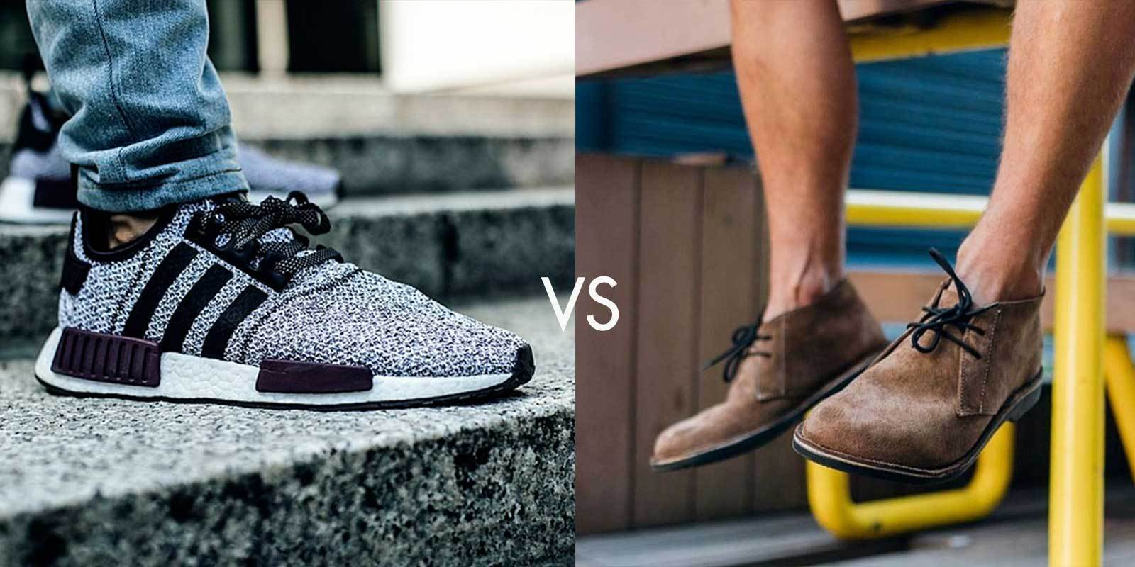 The Chukka boot VS the Sneaker: Veldskoen