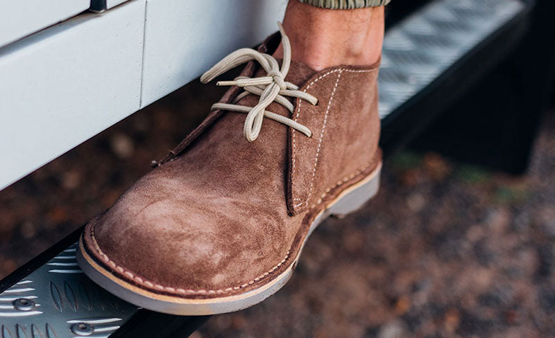 The Desert Chukka boot VS the Sneaker