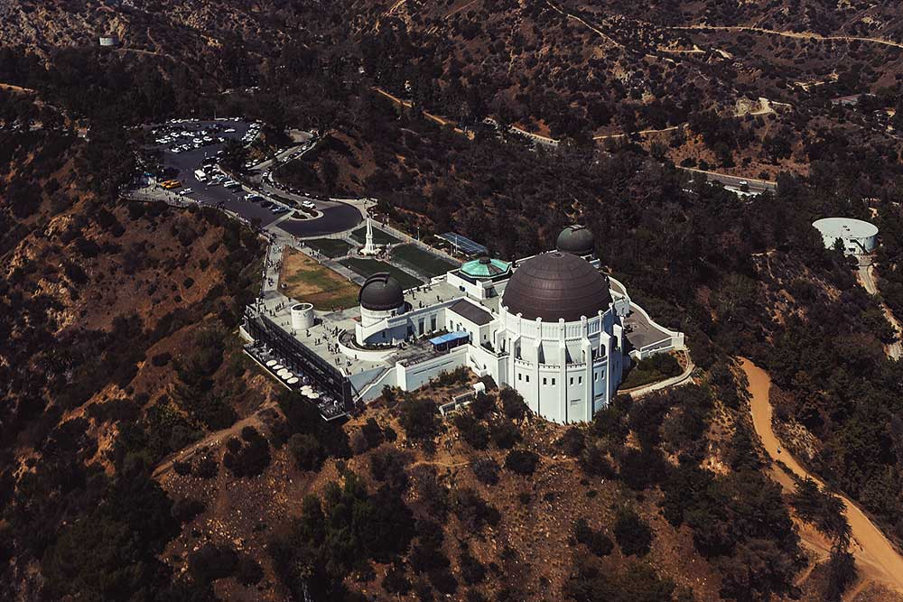 tHE LOS ANGELES GRIFFITH OBSERVATORY