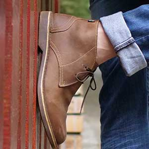 Veldskoen shoes ethically handcrafted genuine leather boots and shoes from South Africa chukka boot original boot style