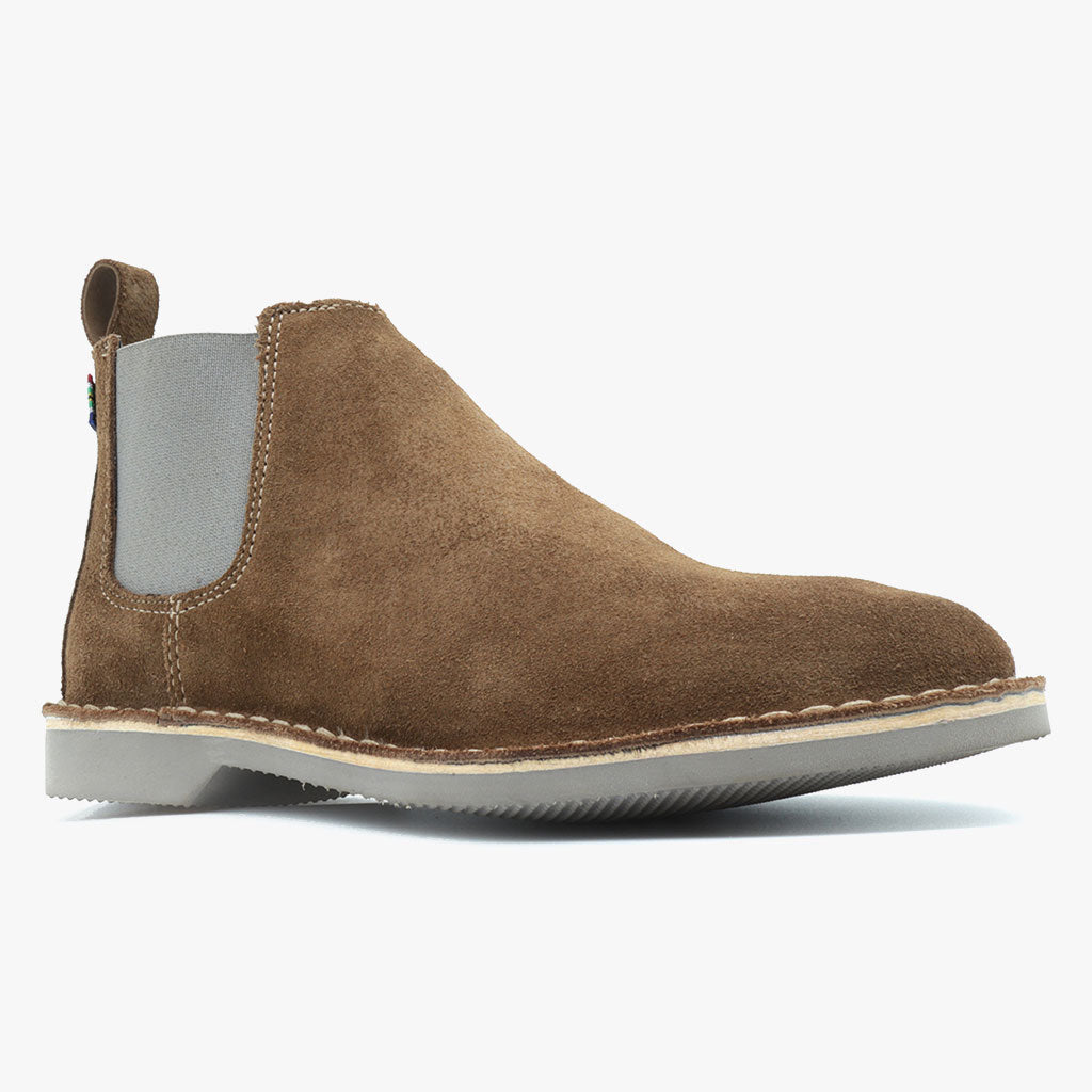 Mens Chelsea Boot Grey