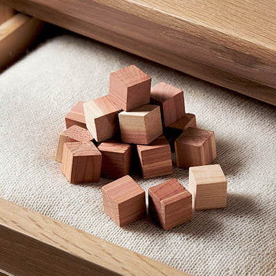 Moth Repellent Cube in Drawer