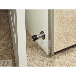mounted door stop with 3M on wardrobe