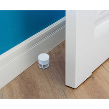 Load image into Gallery viewer, White Stick On Door Stop By The Dove Factor (2 Pcs) Diy
