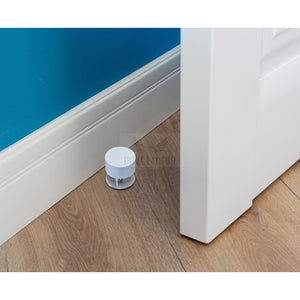 White Stick On Door Stop By The Dove Factor (2 Pcs) Diy