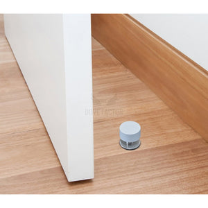 floor mounted door stop with adhesive