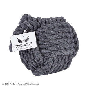 Nautical Rope Knot Fabric Door Stopper