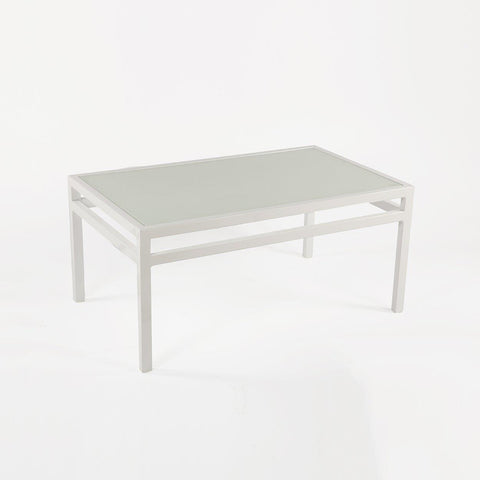 [FCT0223WHT] Meppel coffee table with glass top