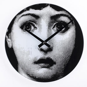 [G131912] Mid Century Girl Wasn't me Clock SALE