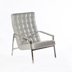 [FEC6049GREY] Eartha lounge chair sale