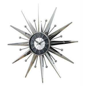 [SUN2407] Metal Sunray Clock