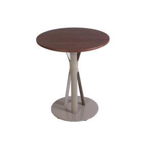 "[FET5649WALNUTA] Asterisk Side Table – 26"" sale"