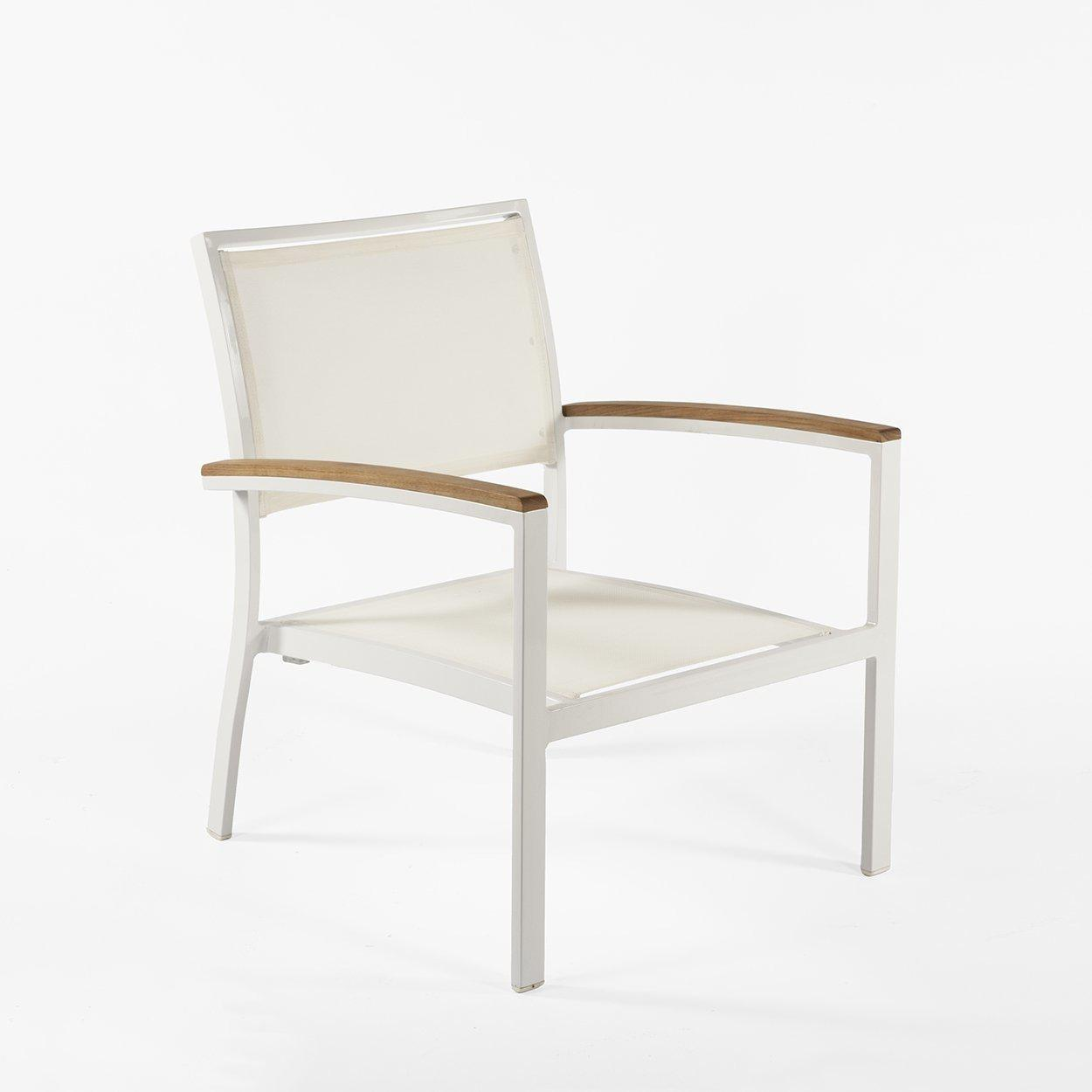 [FCC0210WHT] Flevoland lounge chair