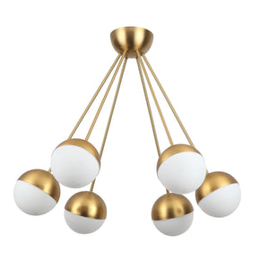 [LBC095BRASS] Stilnovo Spray Chandelier