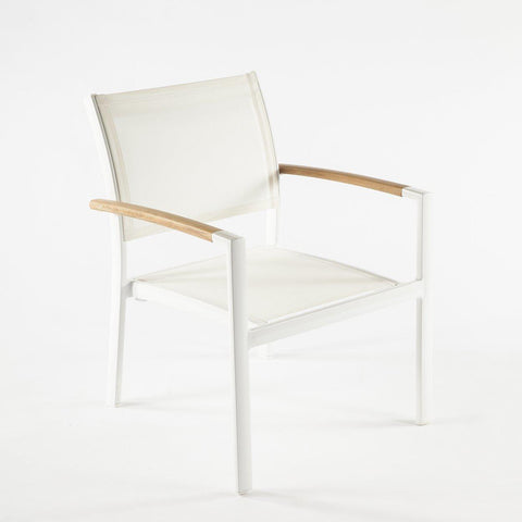 [FCC0410WHT] The Rhodes Lounge Chair