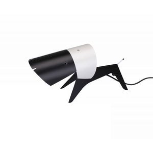[LBT047BLKWHT] The Aller Table Lamp