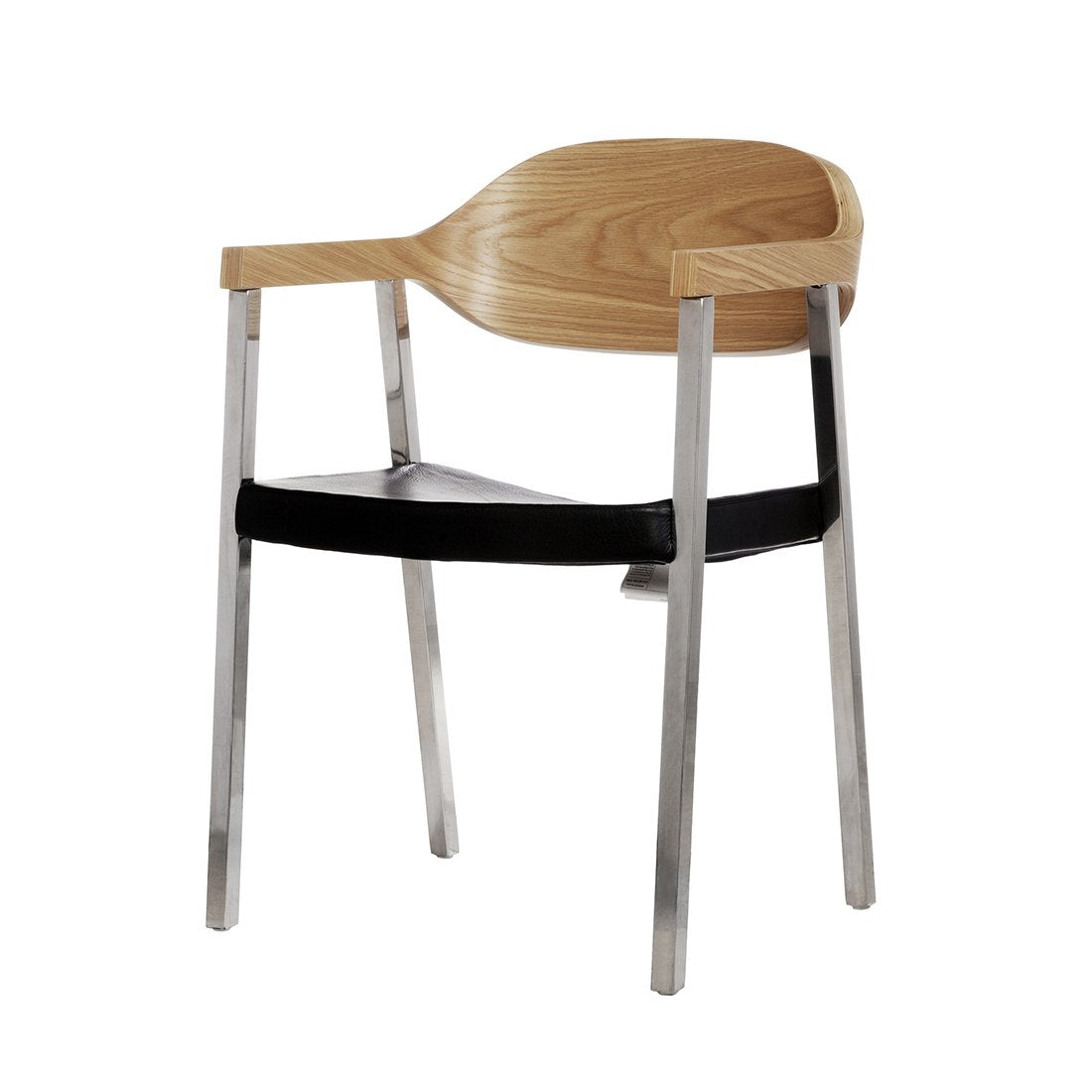 [FEC9819BLK] Slingshot Dining Chair