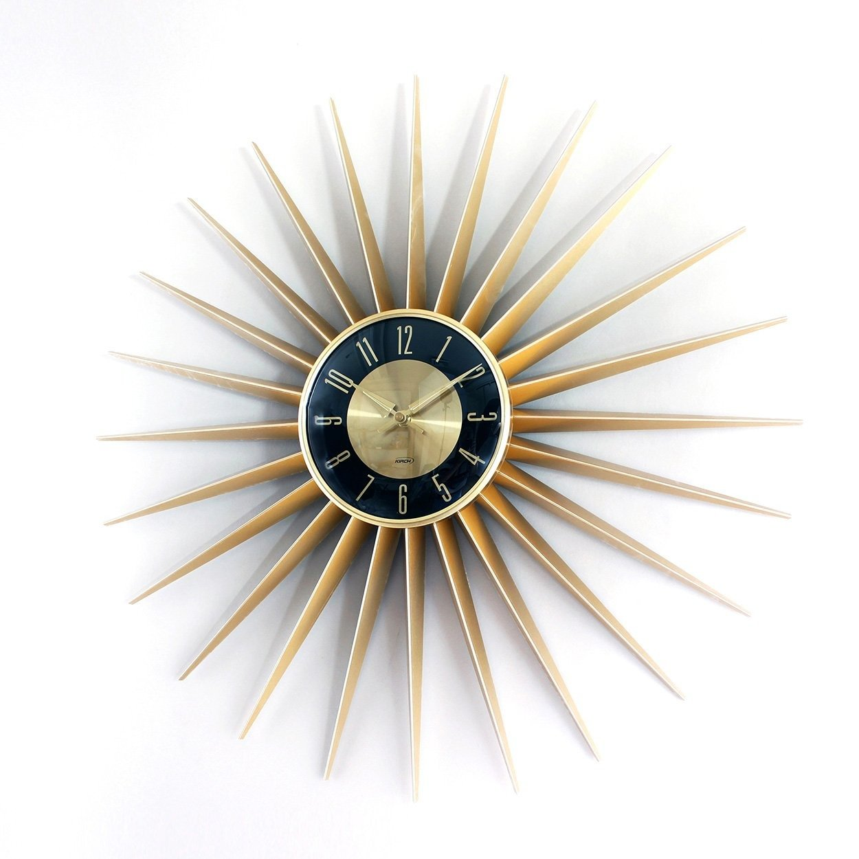 [1688SUNSHINEG24] Sunburst clock