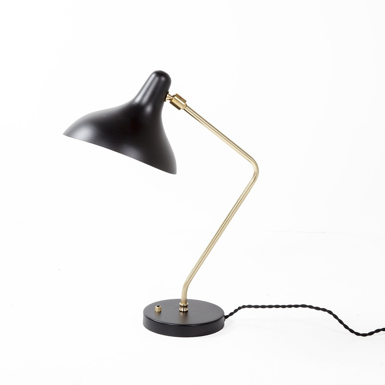 [LBT043BLK] Birgat black table lamp