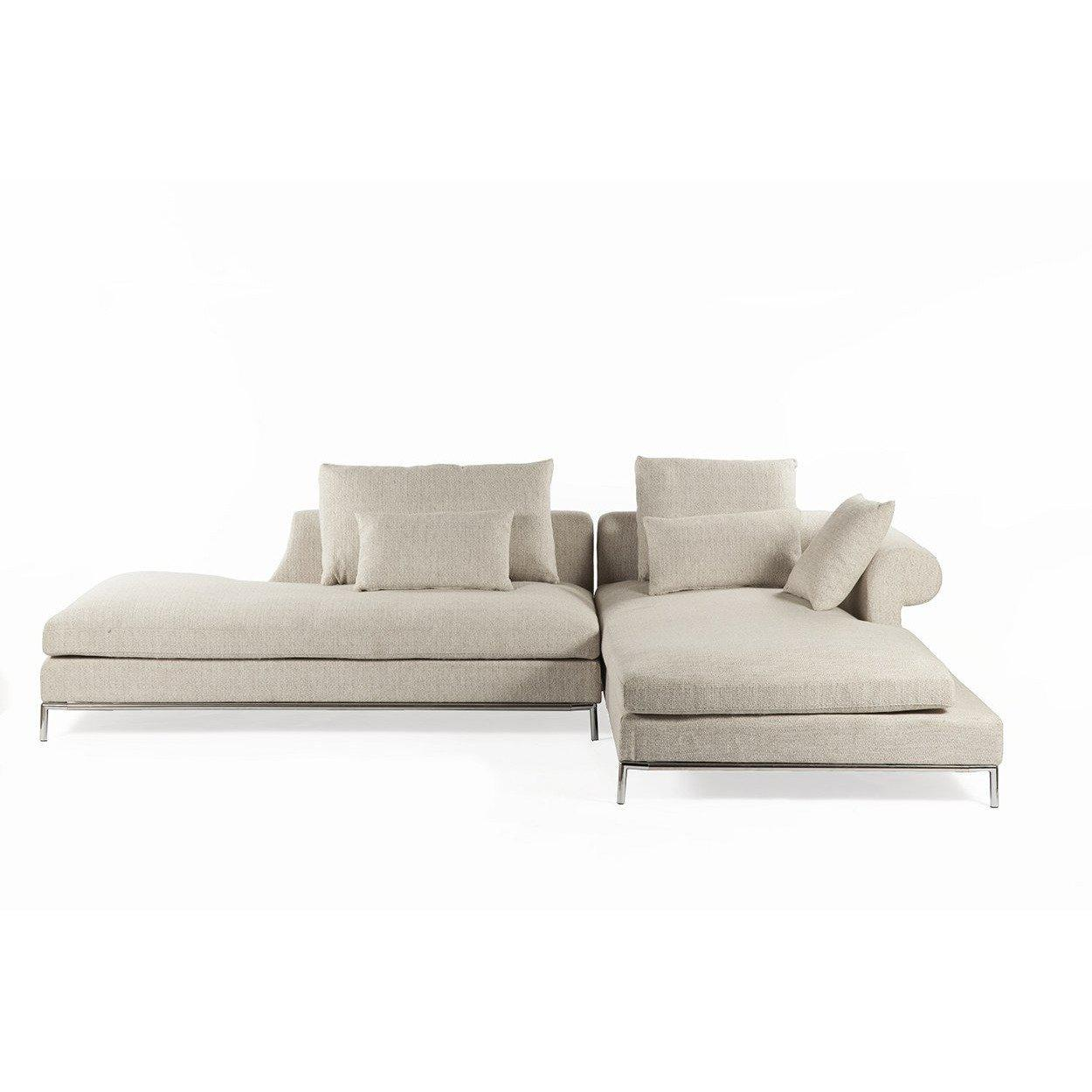 [FQS009BEIGE] The Scandicci Sectional sale