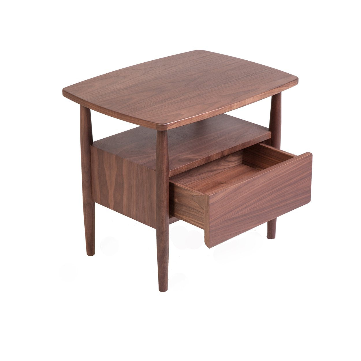 [FES0225WALNUT] Darwin side table