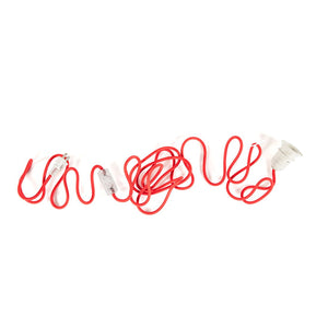 [LF1358RED] Textile ceiling powercord   UL Version SALE