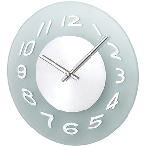 [1135GSL] Verichron Aluminum Frosted Wall Clock SALE