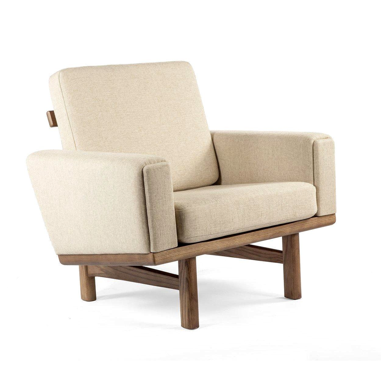 [FEC1239BEIGE] Geleen One seater sofa