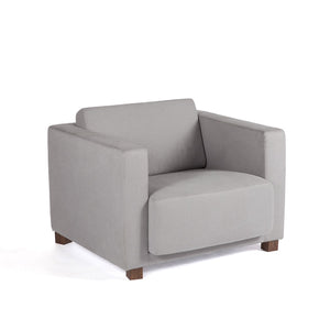 [FEC8619GREY1] Kristiansund One Seater Sofa Sale
