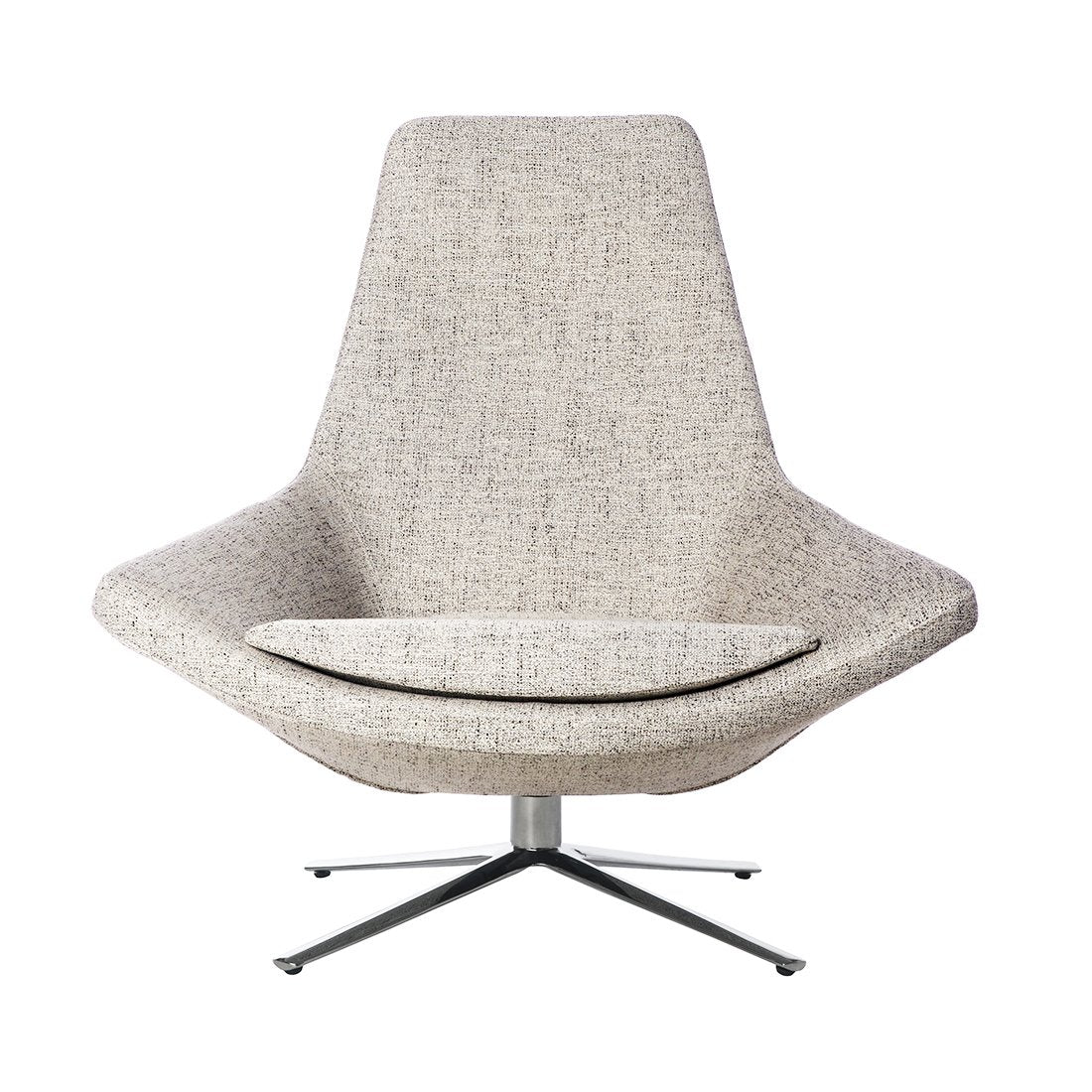 [FV609TWGREY] Haden Lounge Chair