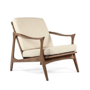 [FEC0219BEIGE1] The Tind Lounge Chair