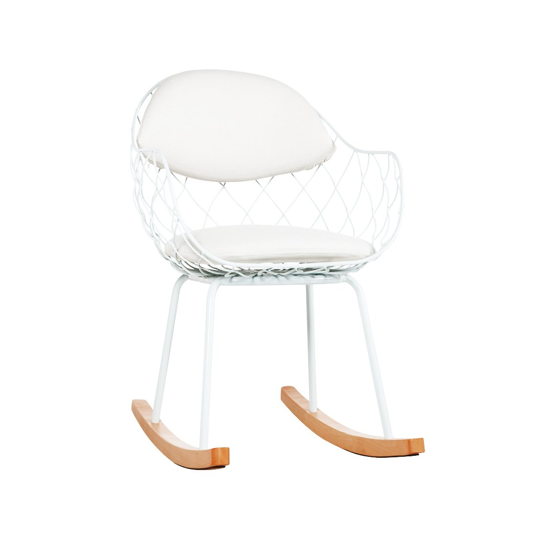 [FD257WHT] Pina Rocking Chair. Sale