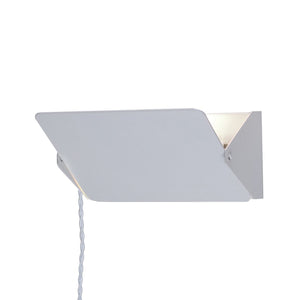 [LBW024WHT] Elin white wall sconce