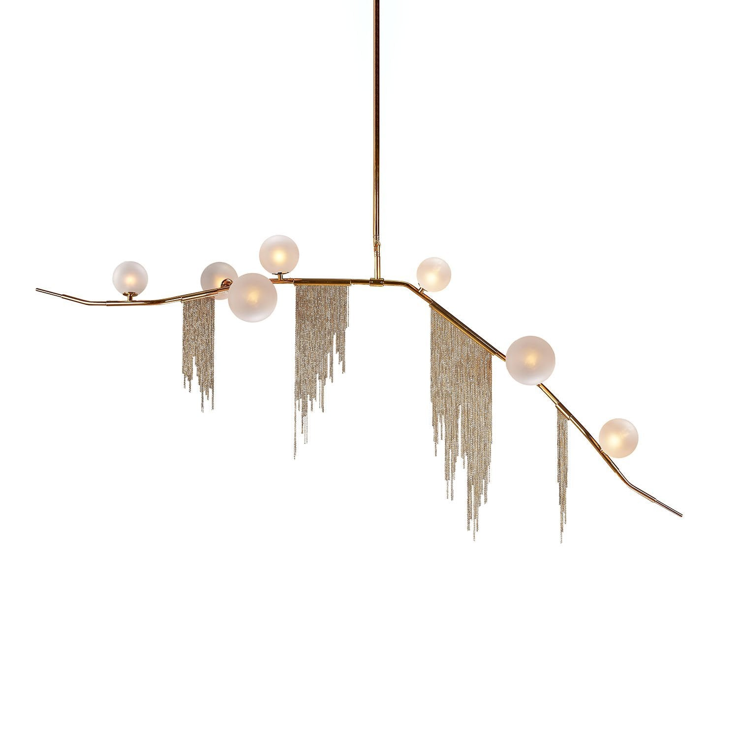 [LS1255S7] Kerseboom Fringe Chandelier - medium [New]