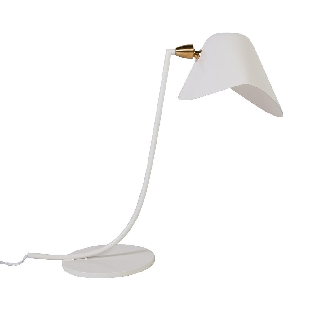 [LBT058WHT] Ditte white table lamp