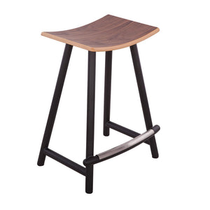 [FEB7449WALNUTB] Vigi Counter Stool SALE