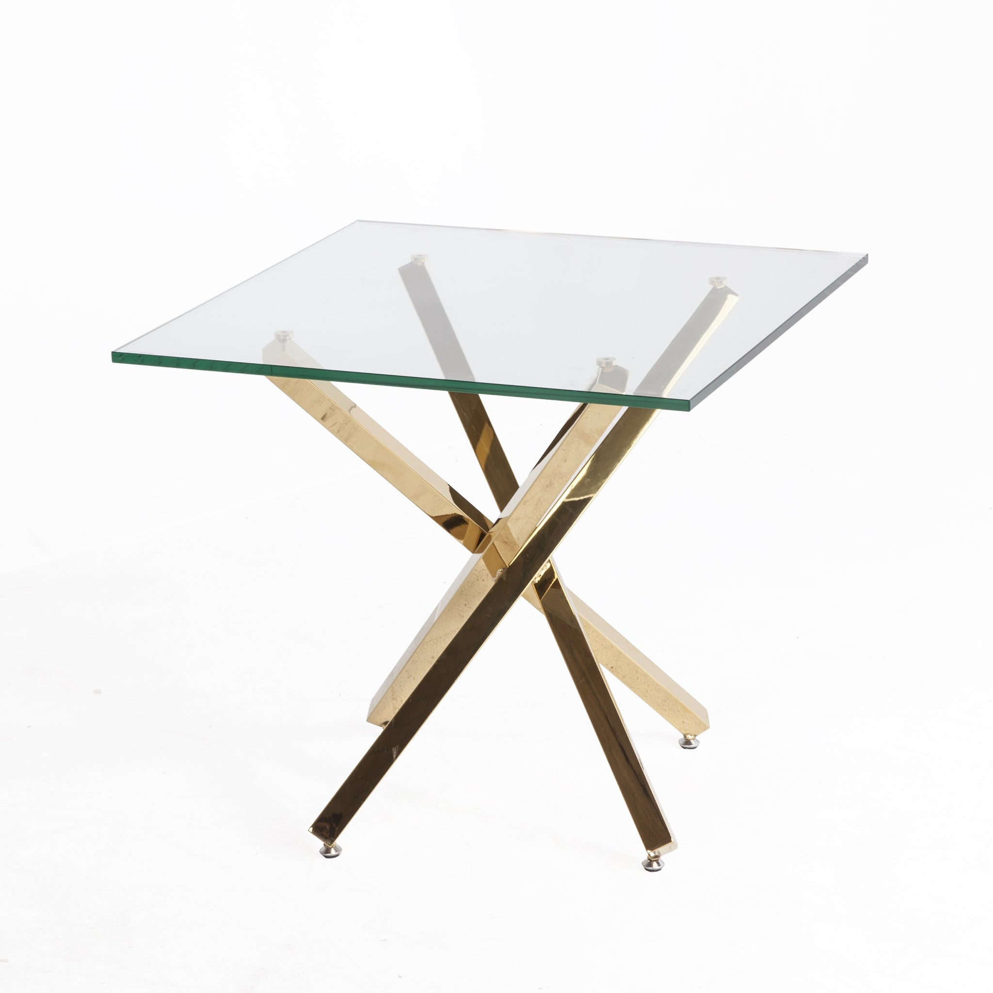 [FWT281SCLRGOLD] genevieve end table