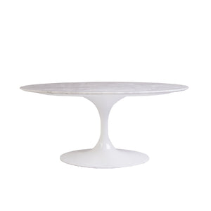 [FET0105WHTM] The Marble Tulip coffee table