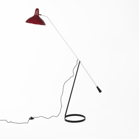 [LBF049RED] The Abello Floor Lamp