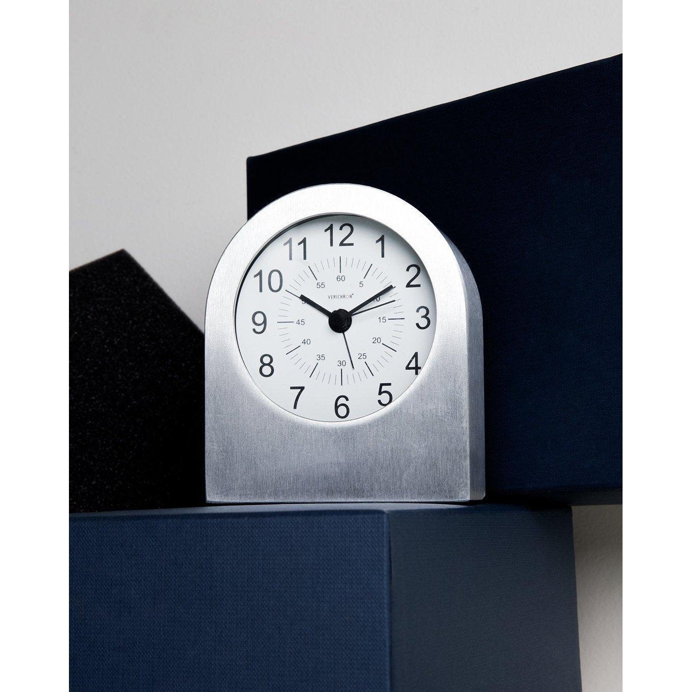 [K90] Verichron Aircraft Grade Aluminum Table Alarm Clock SALE